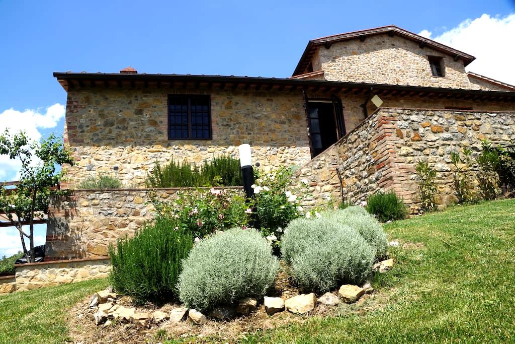 Rustige vakantievilla in Toscane - San Gusmé