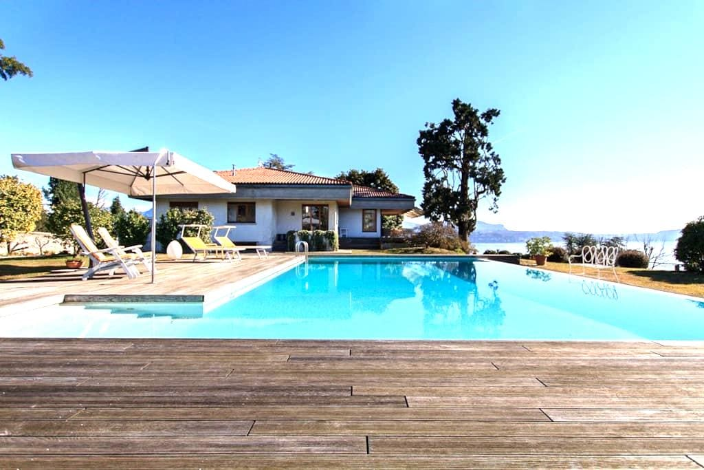 Panoramic villa with pool and views - Pallanza