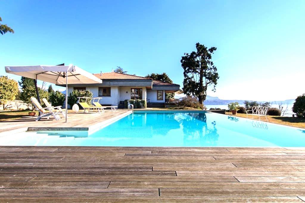 Panoramic villa with pool and views - Pallanza - วิลล่า