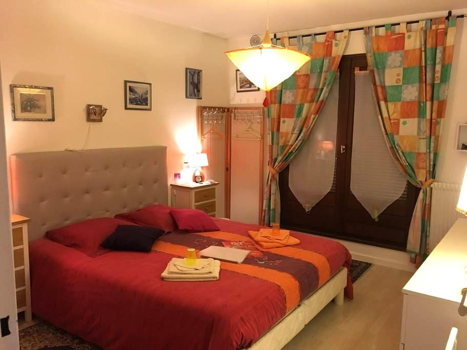 Chambre lumineuse Balcon 5mn/Colmar Bed&Breakfast - Horbourg-Wihr - Maison