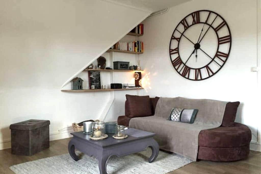 Appt 2 beds, 75m2, 25mn from Paris - Chantilly - Wohnung