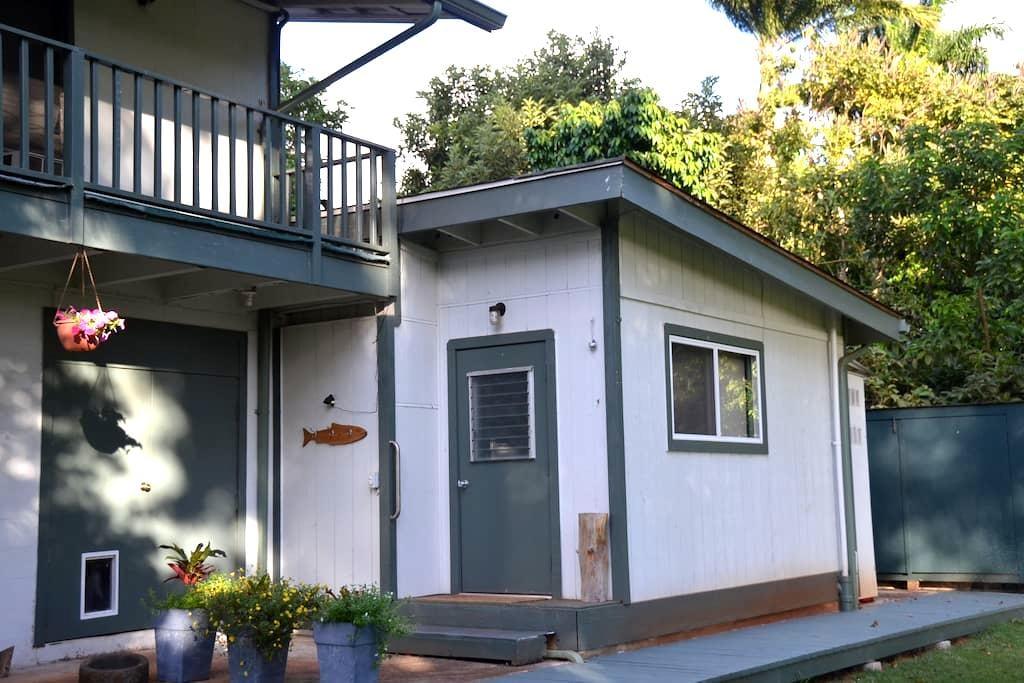 Lotus Garden Hideaway in Waialua - Waialua - Casa