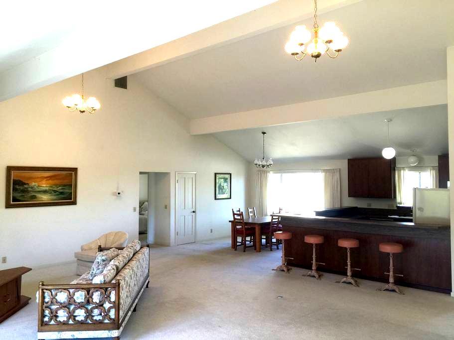 2BR guest house near Stanford w spectacular views - Los Altos Hills - Ház