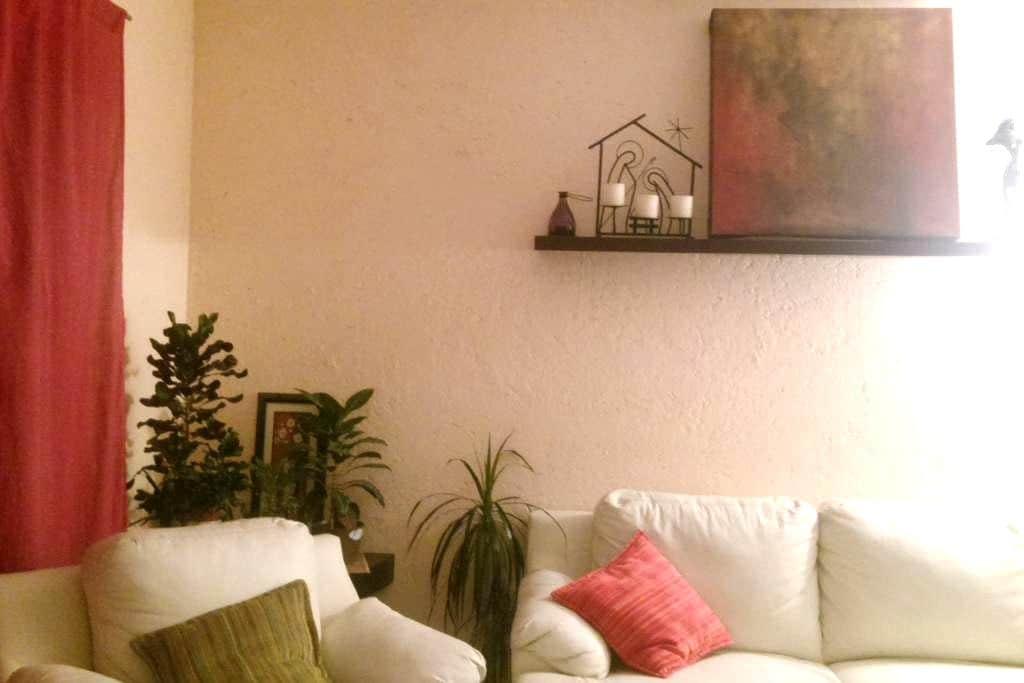 Agradable y tranquilo mini departamento - Jiutepec - Appartement