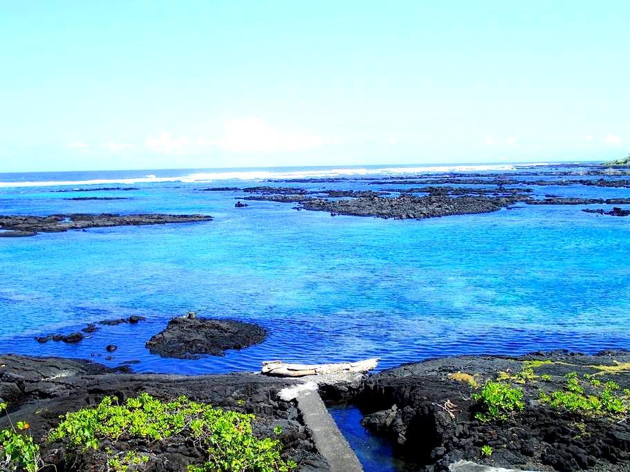 Hale Hui - Amazing Snorkeling, Kapoho Oceanfront - Pāhoa - Dům
