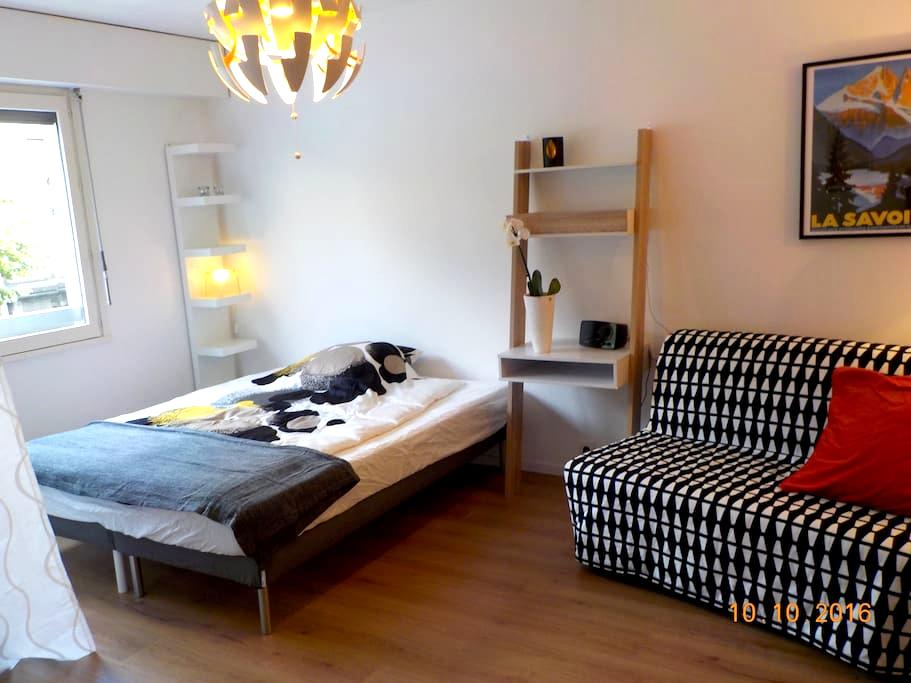 Holiday home in the city centre of Aix les Bains - Aix-les-Bains - Apto. en complejo residencial