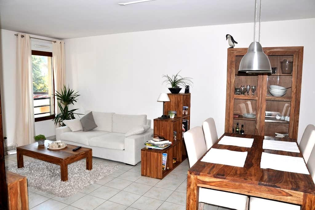 T2 plein centre, prox gare, parking - Voiron - Appartement