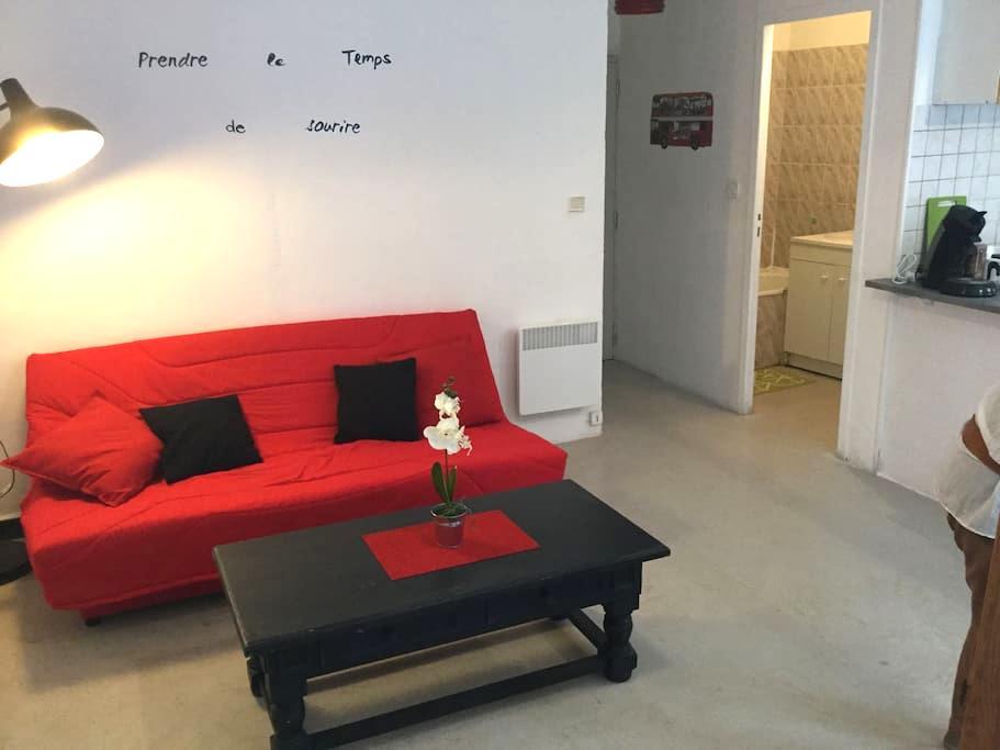 Appartement t2 centre ville Aubagne - Aubagne - Lägenhet