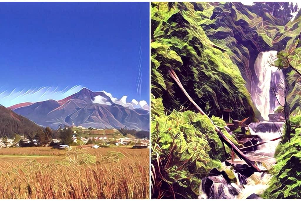 ♡Family House - Next Door to Peguche Waterfall♡ - Otavalo - Guesthouse