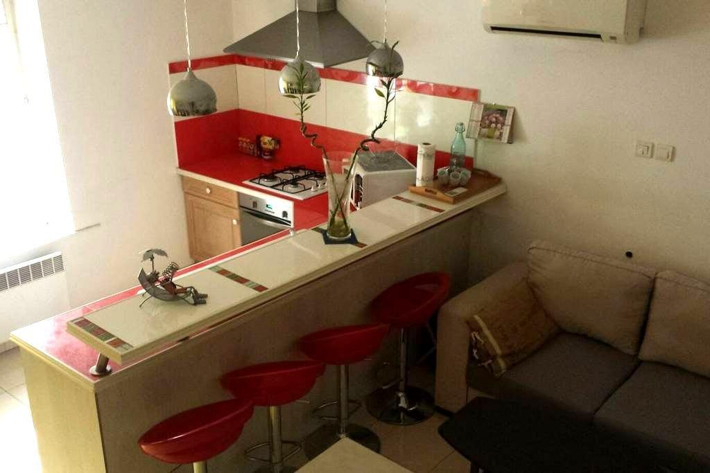 Duplex au coeur de ville avec terrasse - Audincourt - Apartment