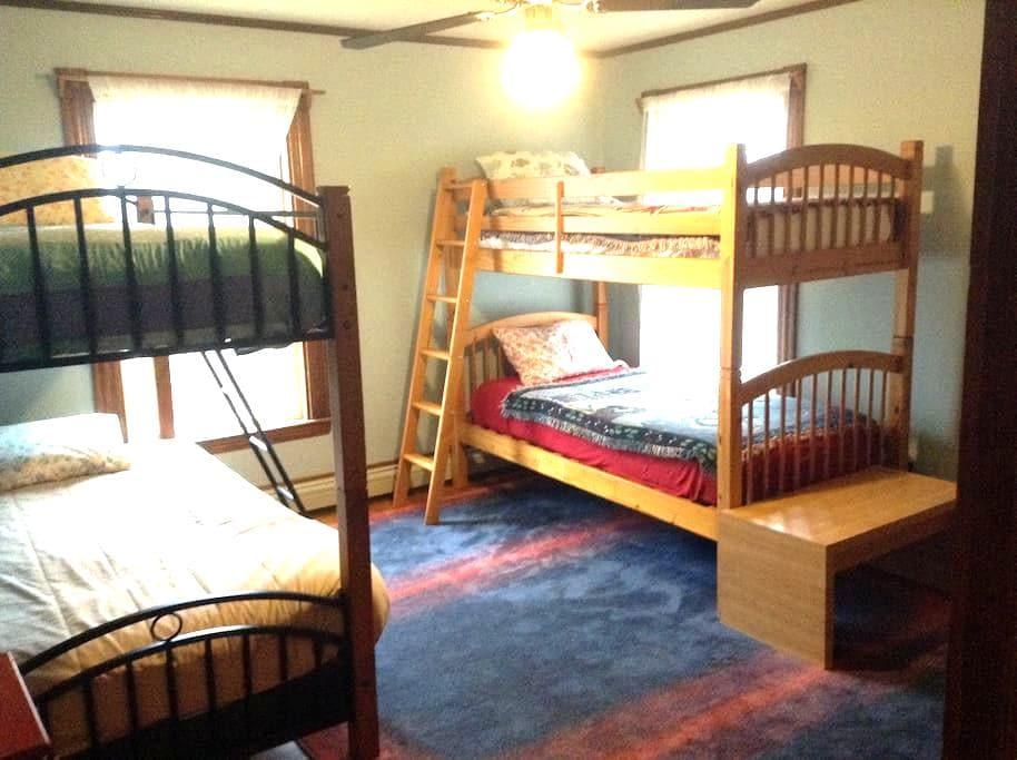 Heartwood Farmhouse Bunk Room #1 - Bethel