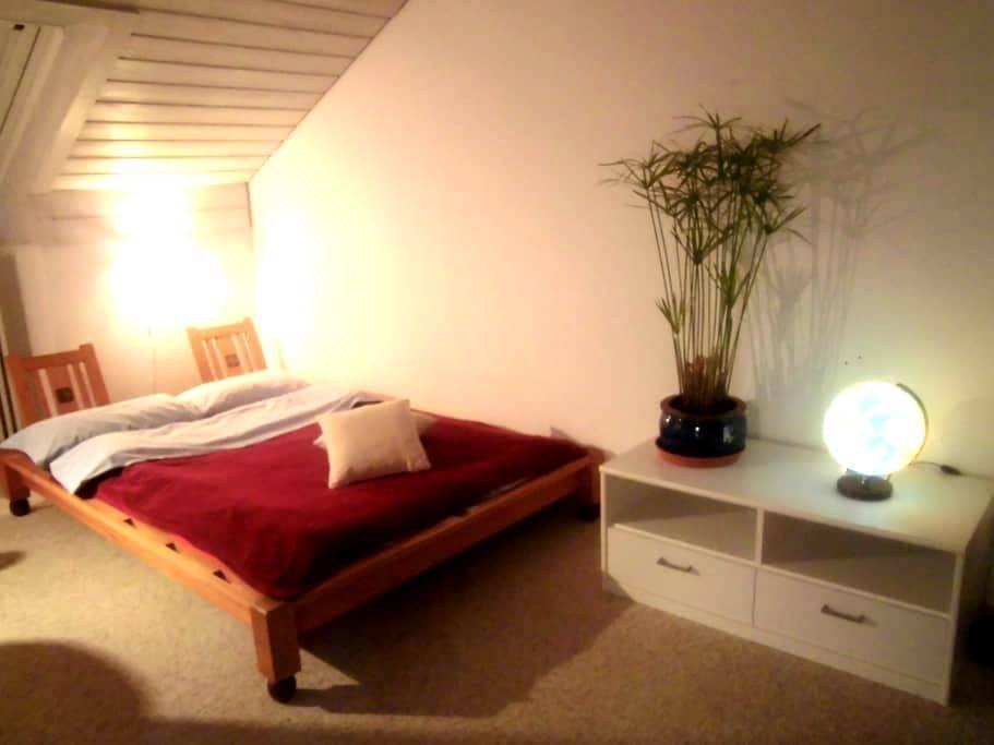 Ruhiges, schönes Zimmer mit eigenem Bad / Kempten - Kempten (Allgäu) - Casa adossada
