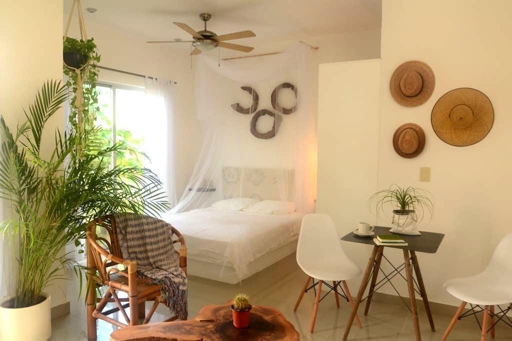 Intimate Studio & healthy breakfast - Tulum