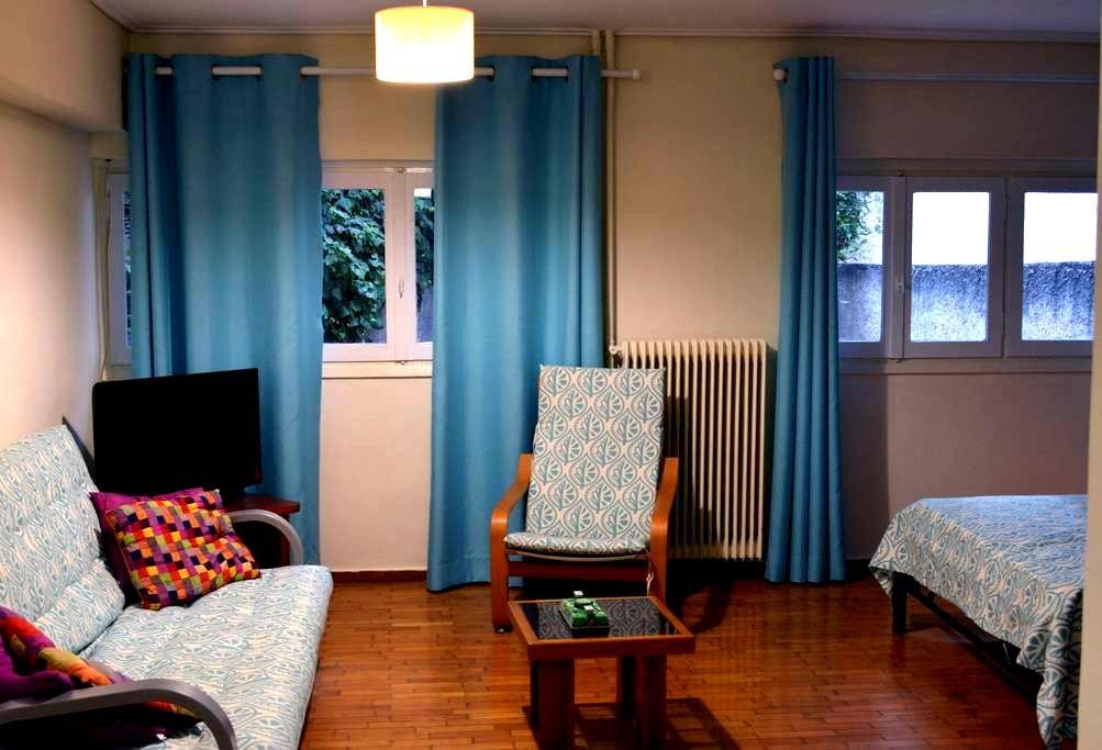 Acropoplis Small Apartment in Koukaki Area - Athina - Leilighet