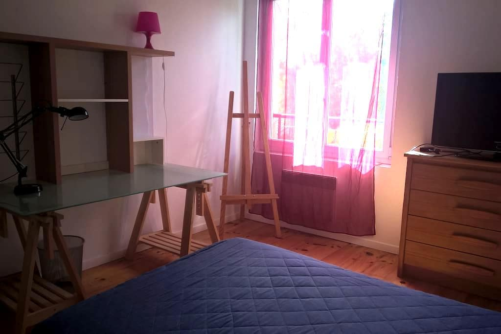Chambre calme et accueil  sympathique - Beauzelle - Huis