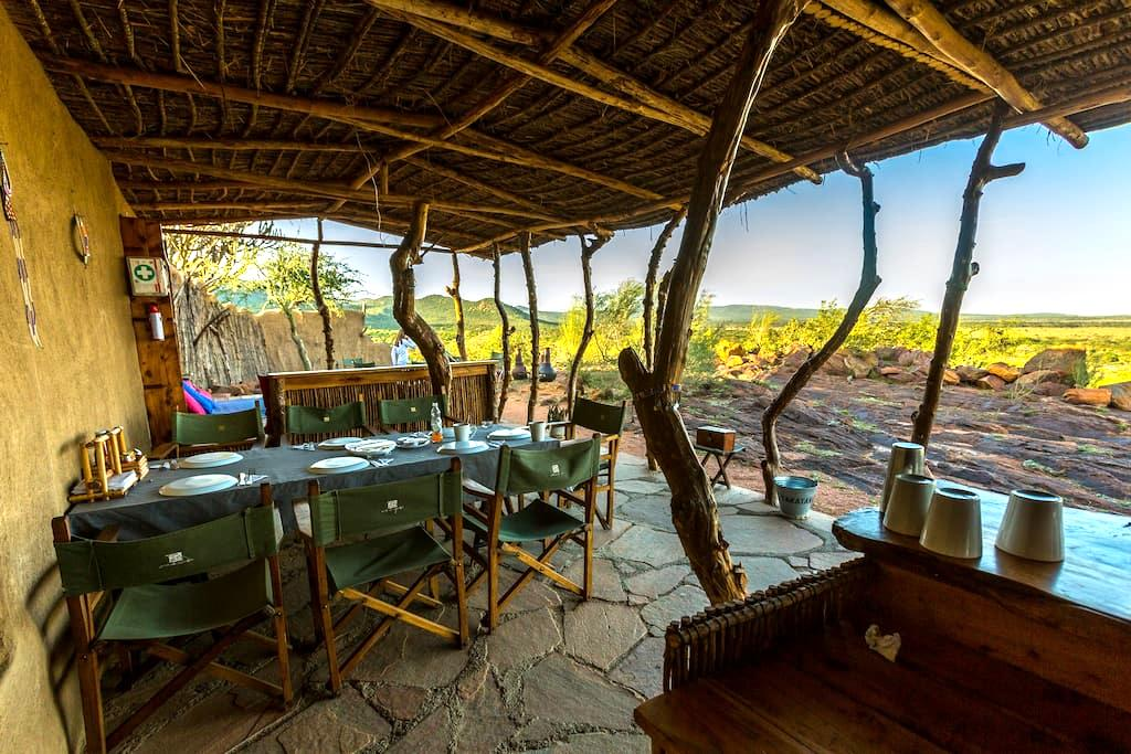 Family-friendly Eco Camp near Masai Mara - Masai Mara, Kenya - Tente
