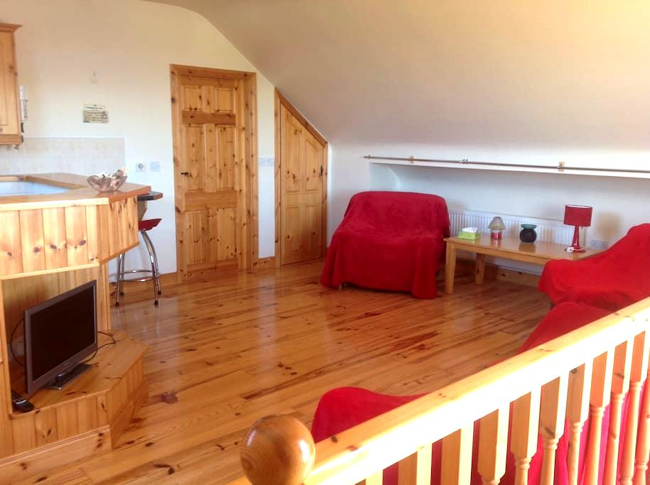 Lakeshore Loft Apartment -  Ballinrobe, near Moore Hall - Lägenhet