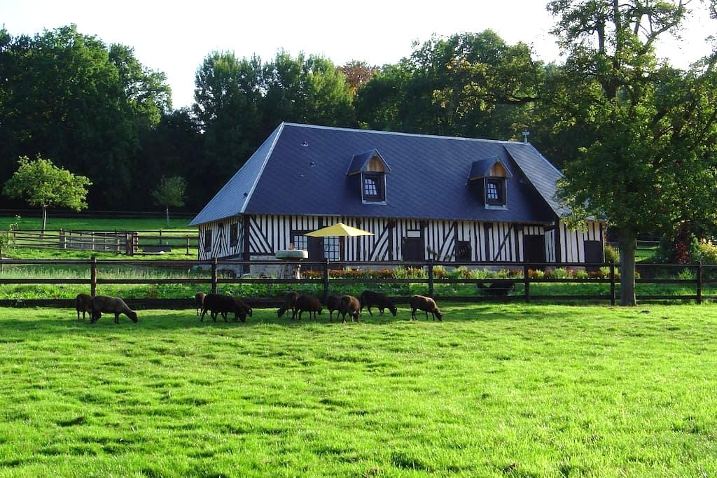 Chambre d'hôtes dans longère normande - Manerbe - Bed & Breakfast