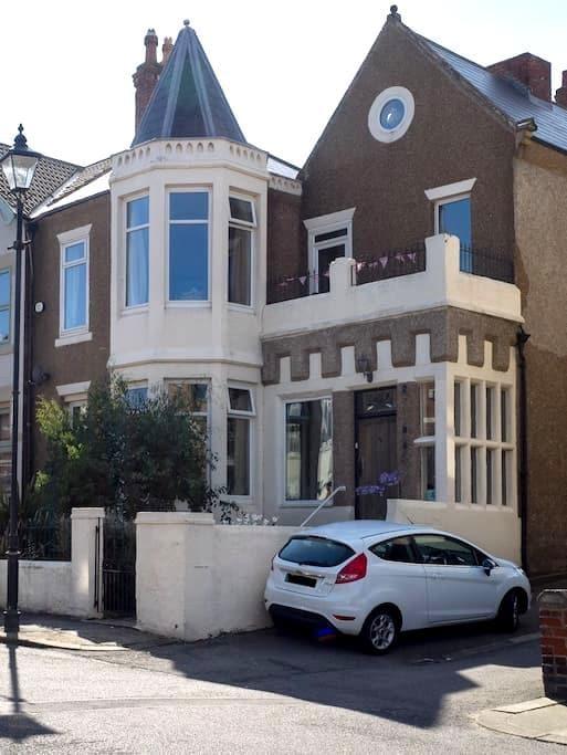 Beautiful house with sea views. - Saltburn-by-the-Sea - Casa