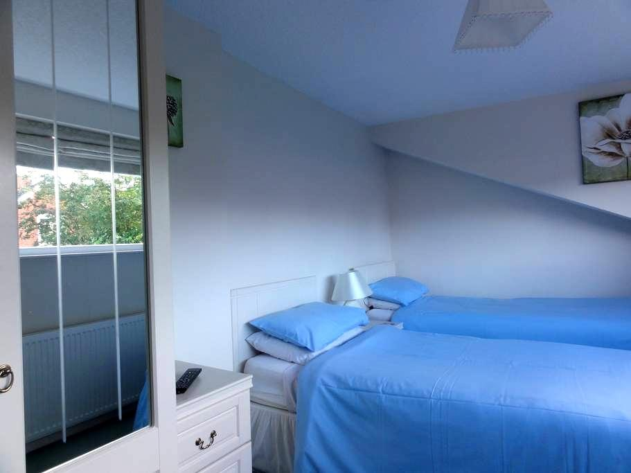 Twin room with private bathroom, close to town - Shrewsbury - Bed & Breakfast