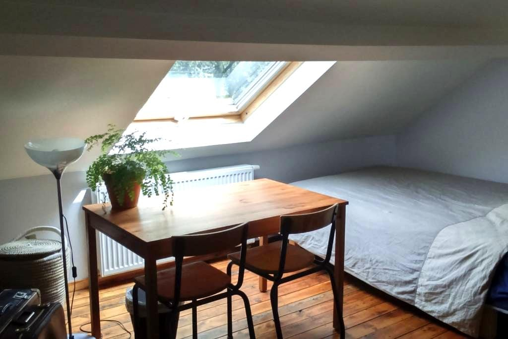 Quiet charming room in the city center - Leuven - Townhouse