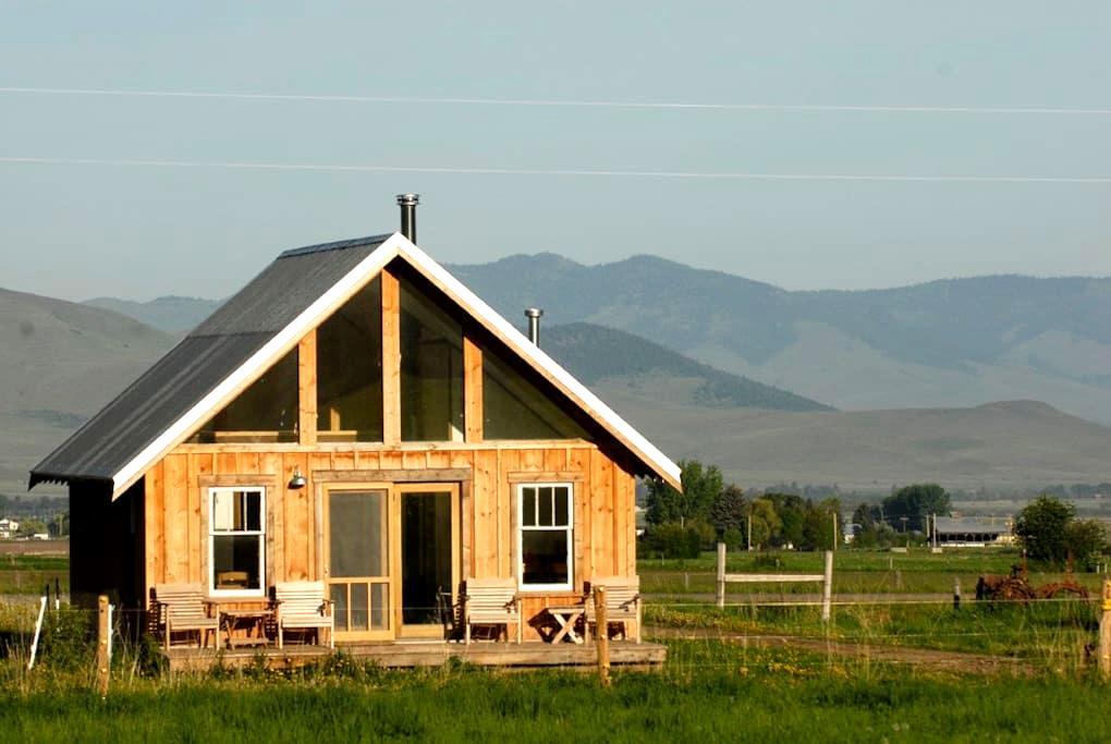 Foothill Farm Cabin Montana - St Ignatius