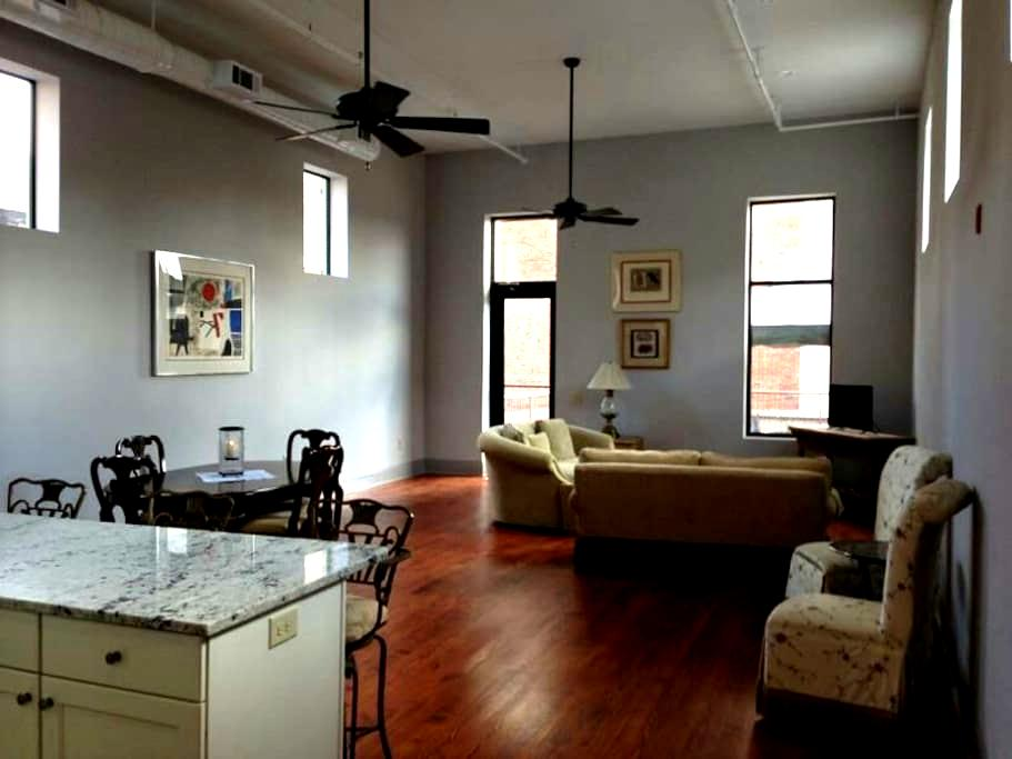 Downtown Loft With Rooftop Patio - Macon - Vindsvåning