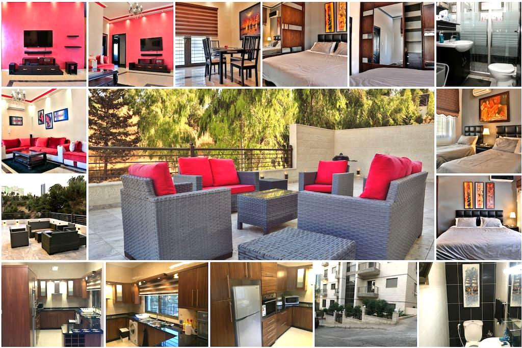 Modern apt, hillview terrace behind prime ministry - Amman