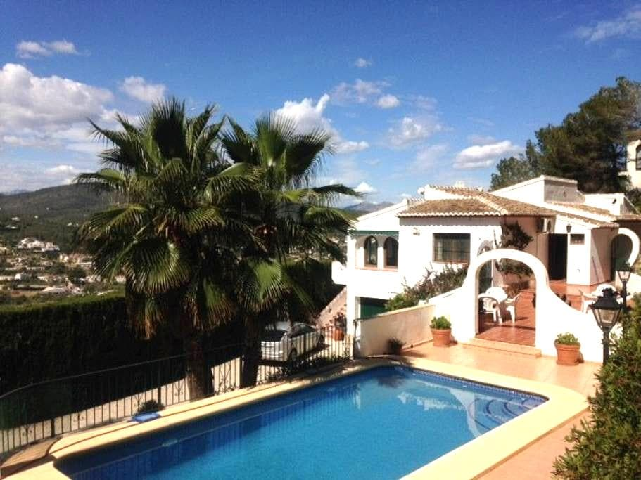 Villa with beautiful views, close to the see - Javea - House
