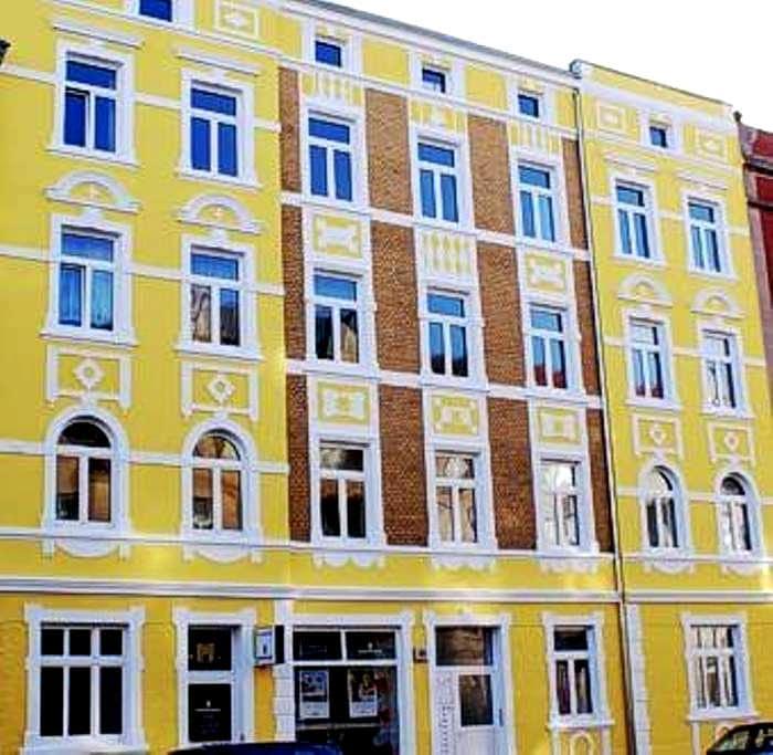 Kleine Wohnung in Bahnhofsnähe - Stralsund - 公寓