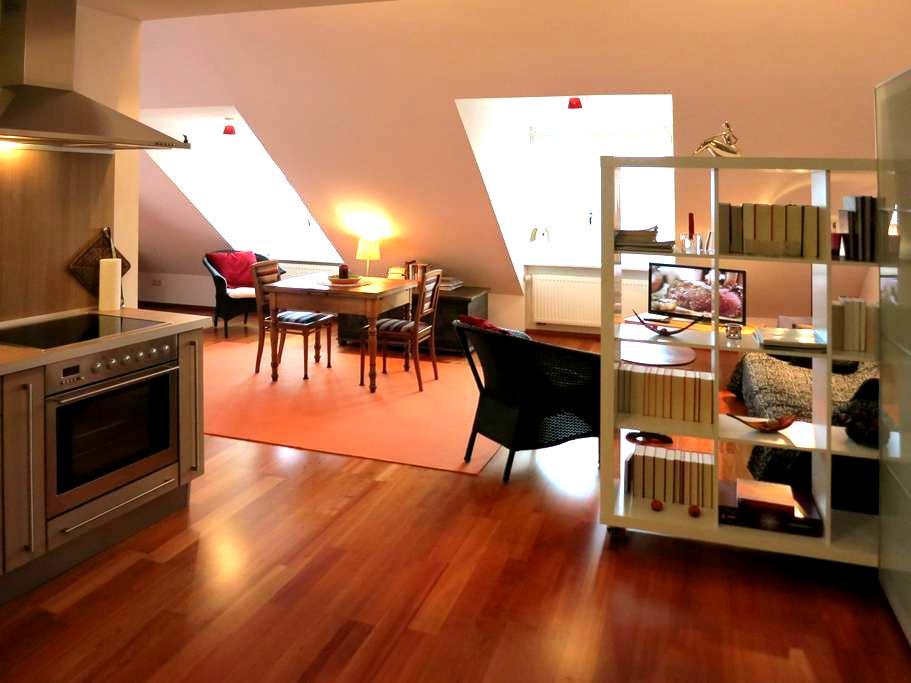 Wohnung in ehemaliger Sektkellerei - Hochheim am Main - 아파트