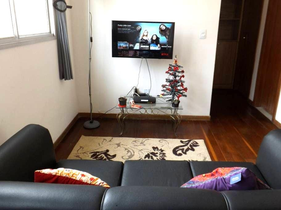 Cozy apartament + Wifi +NetFlix and Parking - 벨루오리존치