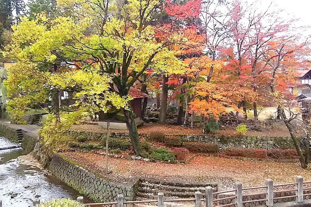 Historical garden in the window,quiet and new! - Takayama - Hus
