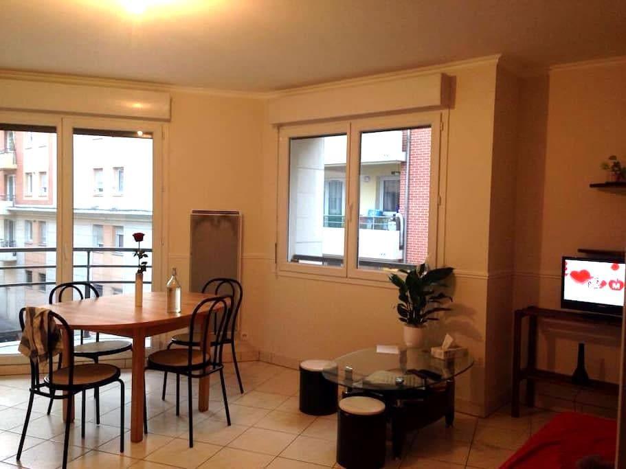 Chambre saint-sever - Rouen - Apartment
