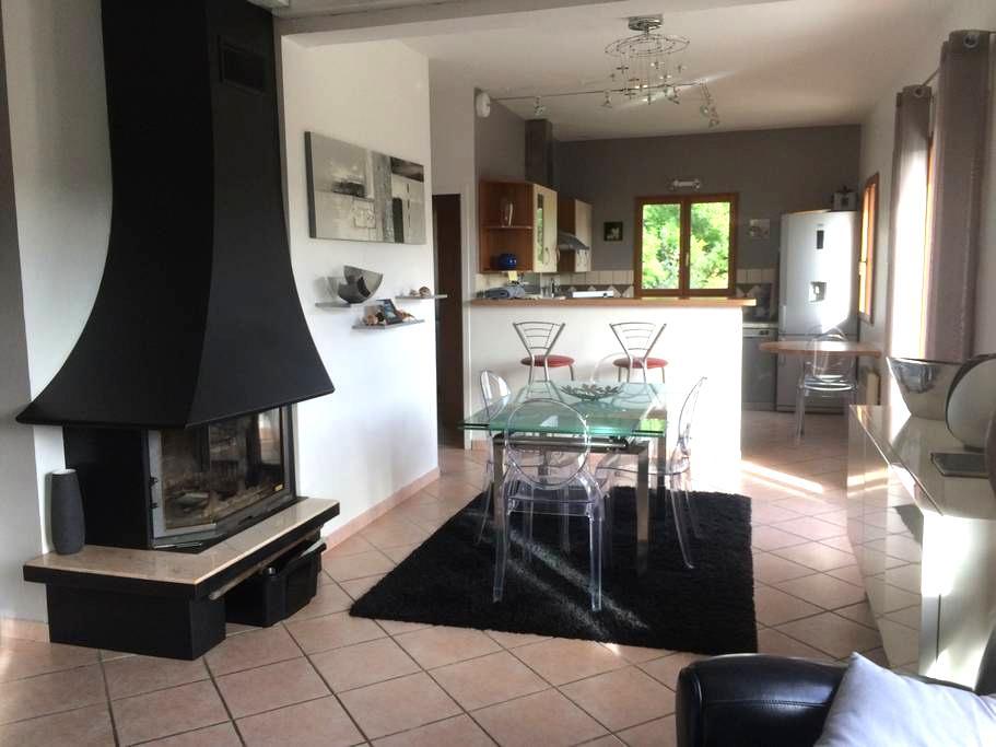 Maison contemporaine en Cévennes vue magnifique - Fraissinet-de-Lozère