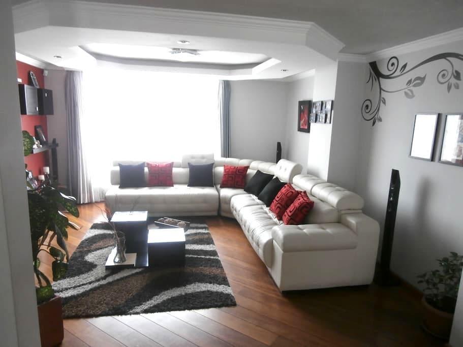 Dos habitaciones disponibles - Quito - Leilighet