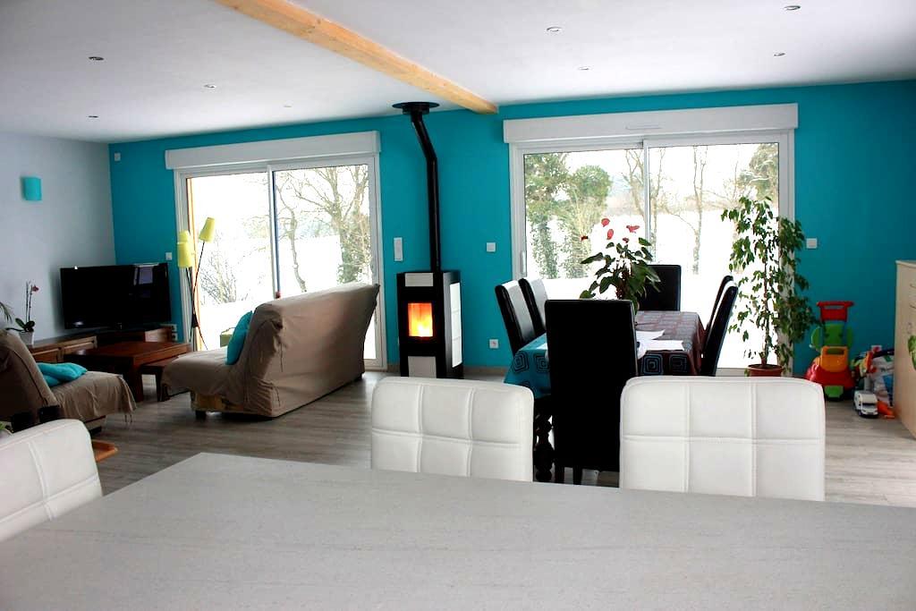 Maison bois entre terre et mer - Trégomeur