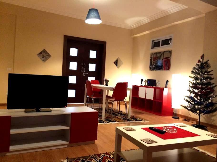 New modern 1-bedroom, Zamalek, Cairo - Zamalek  - Byt