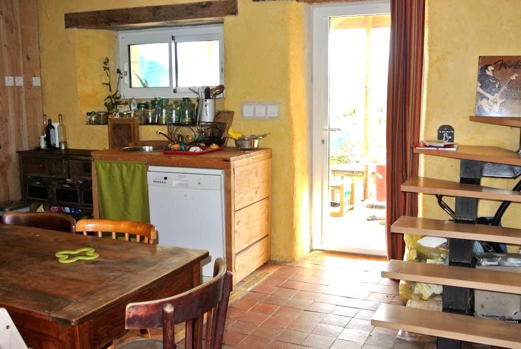 maison bord de loire - Rochefort-sur-Loire - Дом