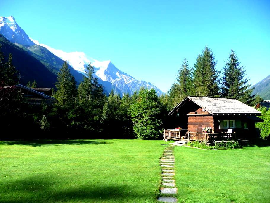 """Petit chalet """"Mazot"""" 2km Chamonix2p - Chamonix - Cabane"""