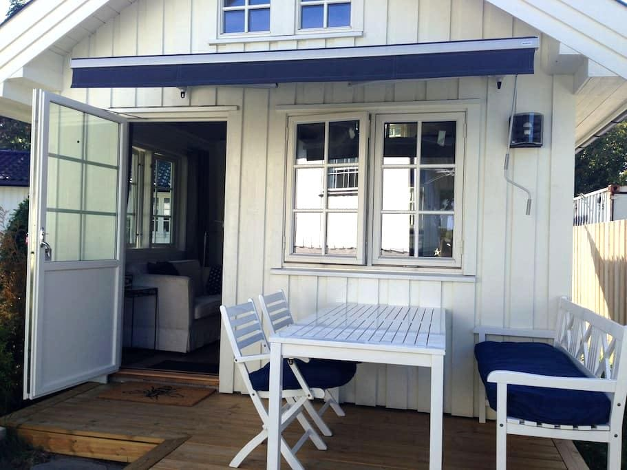 Hvasser - koselig hytte ved sjøen - Tjøme
