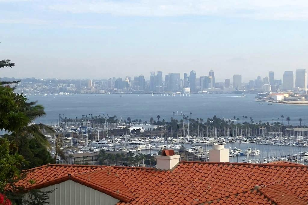 Room with a spectacular view! - San Diego - Casa