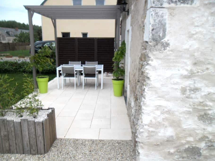 Gîte confortable 4 à 6 personnes (maxi) - Mazé - Casa