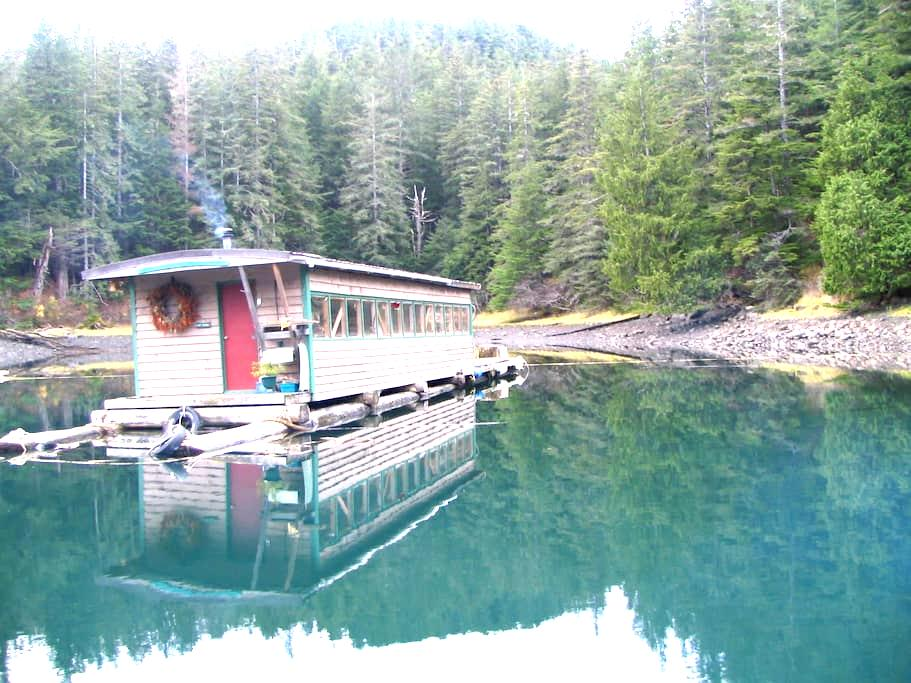 caboose, Float house - Sitka