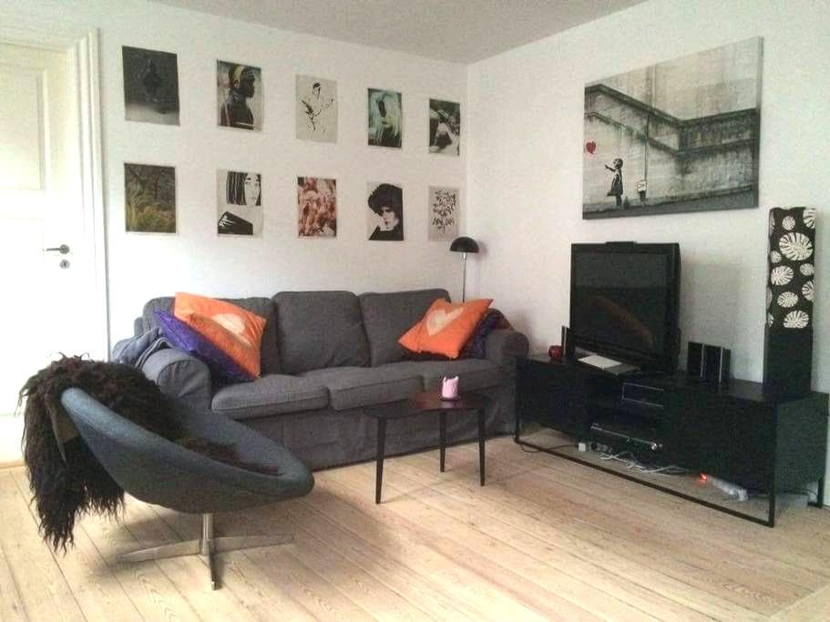 Central 2 bedroom apartment close to Aros - Aarhus - Pis