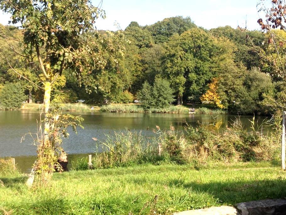 Maison entre étang et fôret - Vélizy-Villacoublay - Casa