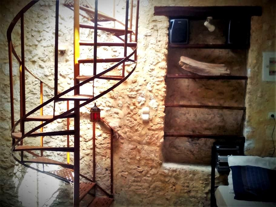 Stone House with Terrace - Rethymno