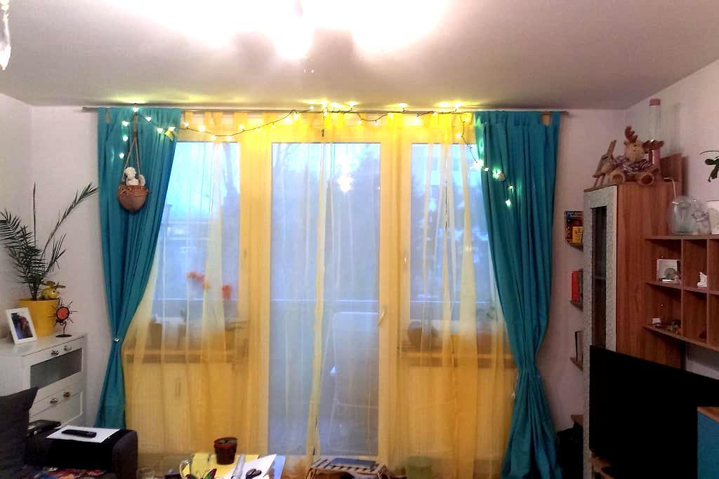 Hübsche, helle 1 Zimmer Wohnung mit Balkon - Salzburg - Apartament
