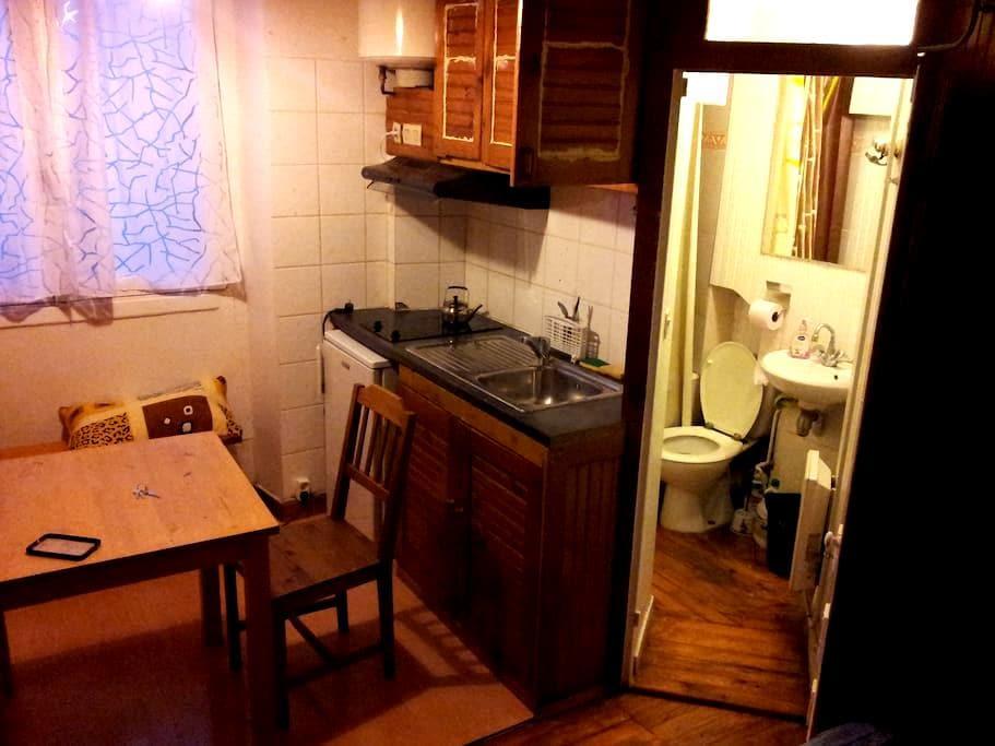 Charmant petit studio à Paris 11 - Paris - Apartemen