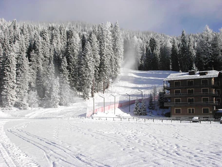Direttamente sulle piste da sci - Madonna di Campiglio - Huoneisto